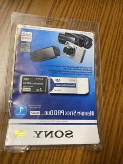 Sony 1GB Memory Stick PRO Duo Card - OEM - MS-MT1G with Read