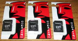 3 Kingston Micro SD to SD; SDHC; SDXC Memory Card Adapters N