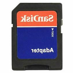 SanDisk microSD micro SD to SD SDHC SDXC Adapter fit 4GB 8GB