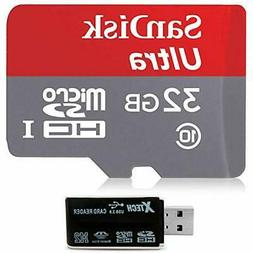 SanDisk 32GB Micro SD Memory Card Class 10 with Universal Ca