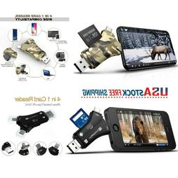 Trail Camera SD Card Reader For IPhone Android Hunting Viewe