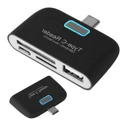 Type-C To USB Hub Memory Card Converter Adapter Reader For S