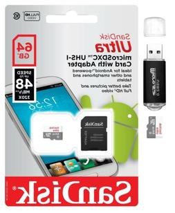 SanDisk Ultra 64GB Micro SD Card Adapter GoPro Hero8 Session