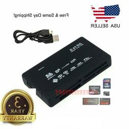 USB 2.0 Flash Memory Card Reader All-in-1 SD / SDHC Micro-SD