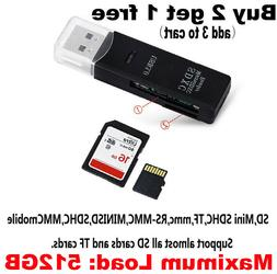 USB 3.0 High Speed Card Reader Adapter for Micro SD SDXC TF